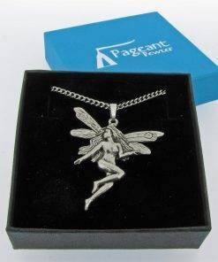 Fairy Pendant - high quality pewter gifts from Pageant Pewter
