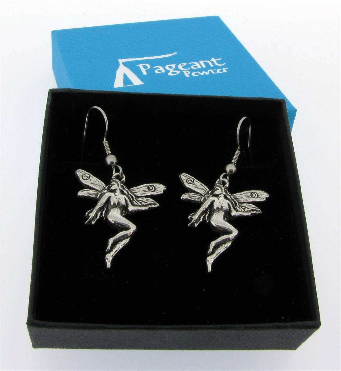 Fairy Earrings - high quality pewter gifts from Pageant Pewter