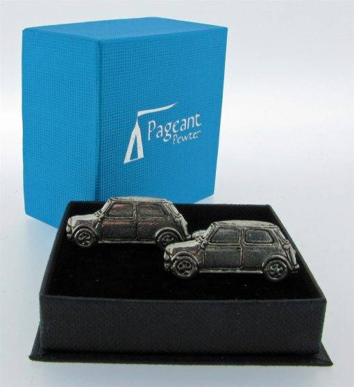 Classic Car (MC) Cufflinks - high quality pewter gifts from Pageant Pewter