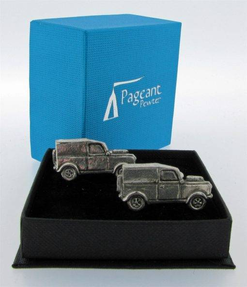 Classic Car (LR) Cufflinks - high quality pewter gifts from Pageant Pewter