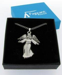 Angel Pendant - high quality pewter gifts from Pageant Pewter