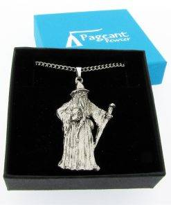 Wizard Pendant - high quality pewter gifts from Pageant Pewter