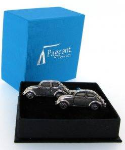 Classic Car (VWB) Cufflinks - high quality pewter gifts from Pageant Pewter