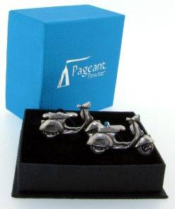Scooter (V) CL - high quality pewter gifts from Pageant Pewter