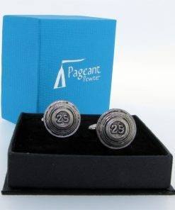 Clays Cufflinks - high quality pewter gifts from Pageant Pewter