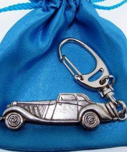 Car Keyring - high quality pewter gifts from Pageant Pewter