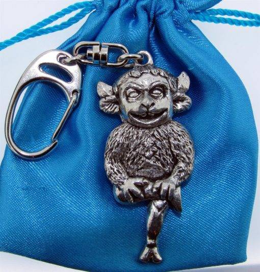 Lincoln Imp Keyring - high quality pewter gifts from Pageant Pewter