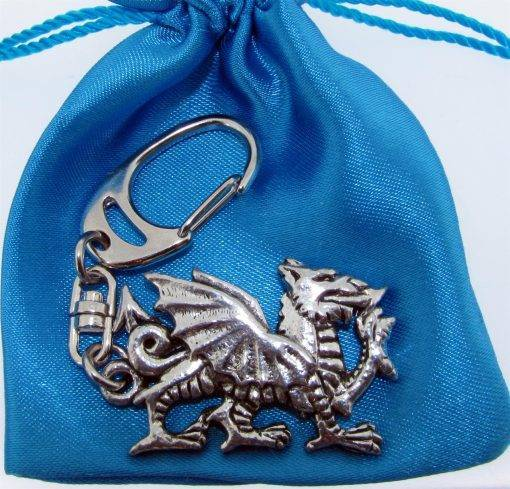 Welsh Dragon KR - high quality pewter gifts from Pageant Pewter
