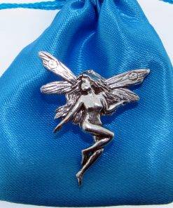 Fairy Pin Badge - high quality pewter gifts from Pageant Pewter
