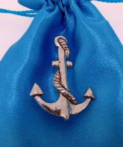 Anchor Pin Badge - high quality pewter gifts from Pageant Pewter