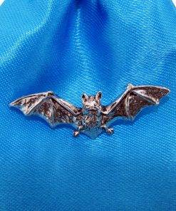Bat Pin Badge - high quality pewter gifts from Pageant Pewter