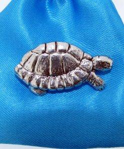 Tortoise Pin Badge - high quality pewter gifts from Pageant Pewter