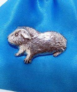 Guinea Pig Pin Badge - high quality pewter gifts from Pageant Pewter