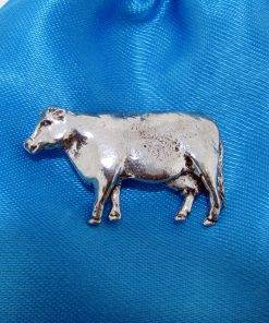 Cow Pin Badge - high quality pewter gifts from Pageant Pewter