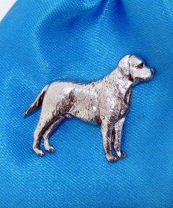 Labrador Pin Badge - high quality pewter gifts from Pageant Pewter