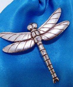 Large Dragonfly Pin Badge - high quality pewter gifts from Pageant Pewter