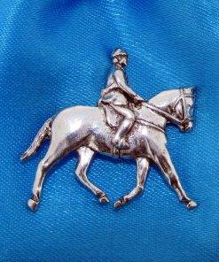 Showpony Pin Badge - high quality pewter gifts from Pageant Pewter