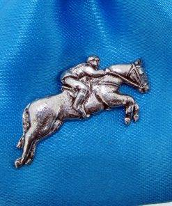 Eventing Pin Badge - high quality pewter gifts from Pageant Pewter