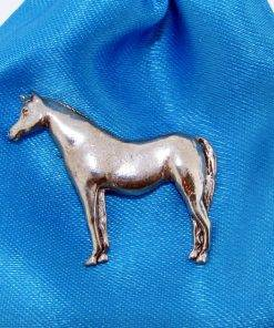 Arab Horse Pin Badge - high quality pewter gifts from Pageant Pewter