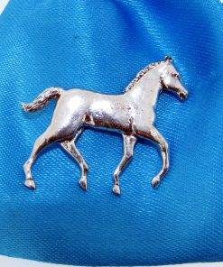Foal Pin Badge - high quality pewter gifts from Pageant Pewter