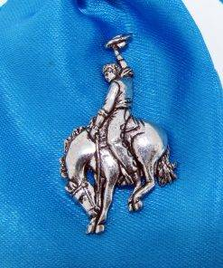 Rodeo Pin Badge - high quality pewter gifts from Pageant Pewter