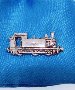 Train Pin Badge - high quality pewter gifts from Pageant Pewter