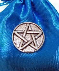 Pentangle Pin Badge - high quality pewter gifts from Pageant Pewter