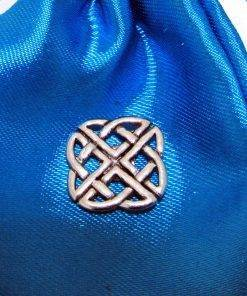 Celtic Knot Pin Badge - high quality pewter gifts from Pageant Pewter