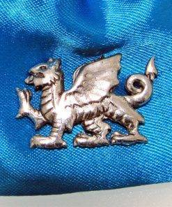 Welsh Dragon Pin Badge - high quality pewter gifts from Pageant Pewter