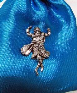 Highlander Pin Badge - high quality pewter gifts from Pageant Pewter