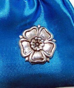 English Rose Pin Badge - high quality pewter gifts from Pageant Pewter