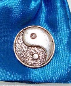 Yin and Yang 1 Pin Badge - high quality pewter gifts from Pageant Pewter