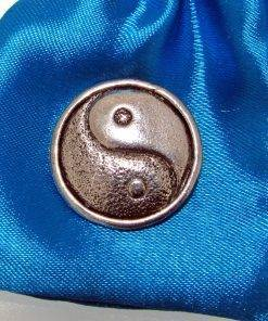 Yin and Yang 2 Pin Badge - high quality pewter gifts from Pageant Pewter