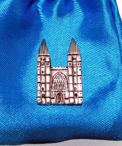 Southwell Minster Pin Badge - high quality pewter gifts from Pageant Pewter