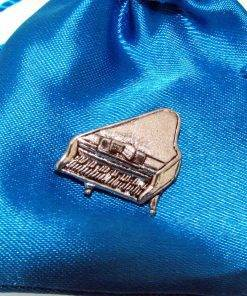 Piano Pin Badge - high quality pewter gifts from Pageant Pewter