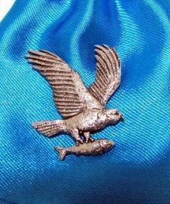 Osprey Pin Badge - high quality pewter gifts from Pageant Pewter