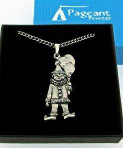 Clown Pendant - high quality pewter gifts from Pageant Pewter