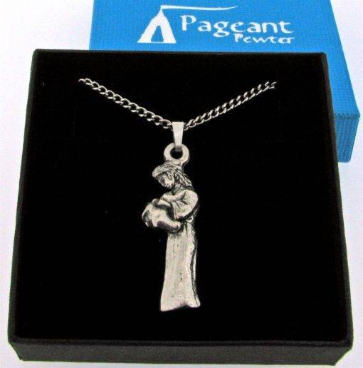 Aquarius Pendant - high quality pewter gifts from Pageant Pewter