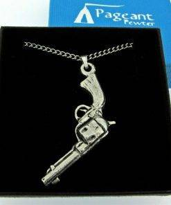 Colt 45 Pistol - high quality pewter gifts from Pageant Pewter