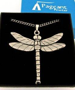 Large Dragonfly Pendant - high quality pewter gifts from Pageant Pewter