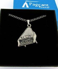 Piano Pendant - high quality pewter gifts from Pageant Pewter