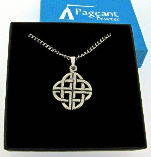 Celtic Knot Pendant - high quality pewter gifts from Pageant Pewter