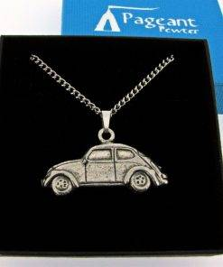 Classic Car VWB Pendant - high quality pewter gifts from Pageant Pewter