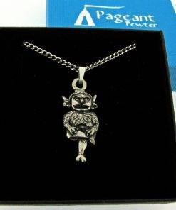 Lincoln Imp Pendant - high quality pewter gifts from Pageant Pewter