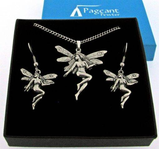 Fairy Jewellery Gift Set - high quality pewter gifts from Pageant Pewter
