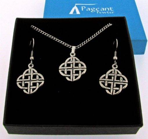 Celtic Jewellery Gift Set - high quality pewter gifts from Pageant Pewter
