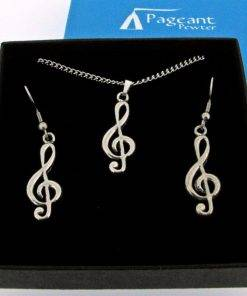 Music Jewellery Gift Set - high quality pewter gifts from Pageant Pewter