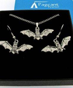 Bat Jewellery Gift Set - high quality pewter gifts from Pageant Pewter