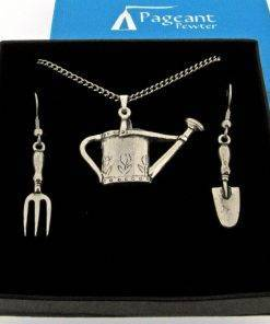 Gardening Jewellery Gift Set - high quality pewter gifts from Pageant Pewter