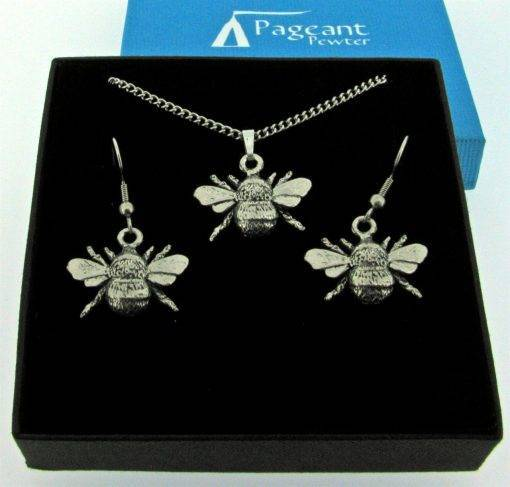 Bee Jewellery Gift Set - high quality pewter gifts from Pageant Pewter